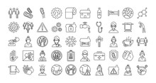 Bundle Of Covid19 Set Icons