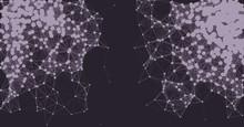Network Mesh Procedural Art Ba...