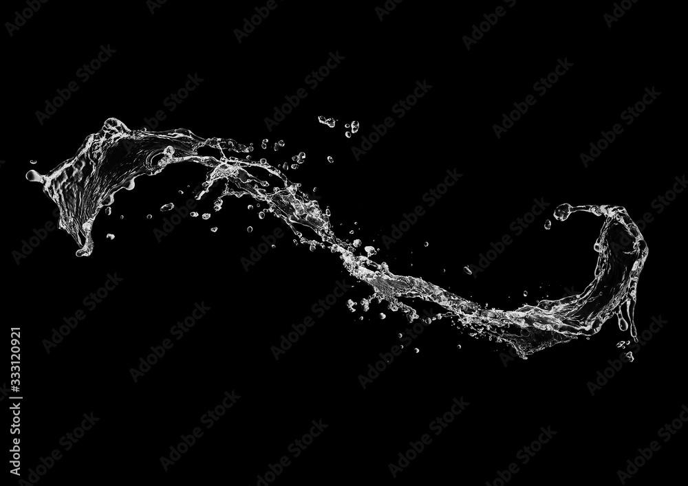 Fototapeta 抽象的な水しぶき