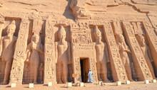 Abu Symbel Temple In Egypt. Te...