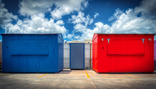 Colorful Steel Containers