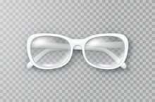 Glasses Isolated On Transparen...