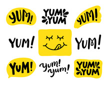 Yum Yum Words Set. Printable G...