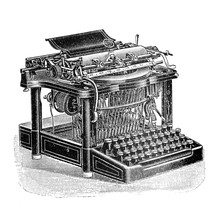 Antique Typewriter / Old Antiq...