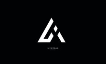 Alphabet Letter Icon Logo AI