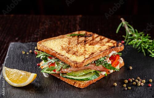Obraz na płótnie Vegetarian American Cuisine
