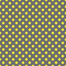 Small Yellow Polka Dots Pattern