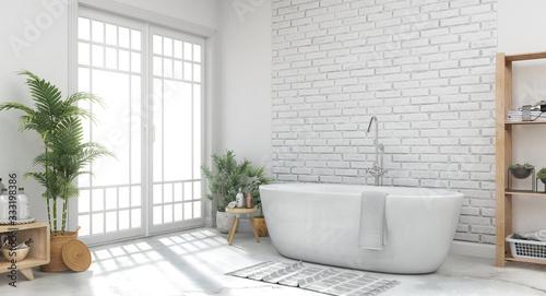 Fotografija Bathroom, 3d illustration