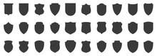 Set Of Shields. Protection. Ve...