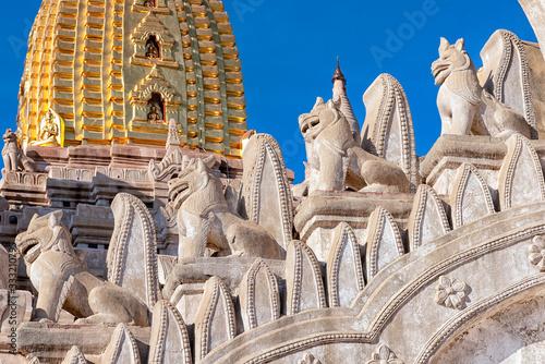 Details of Ananda Temple in Bagan, Myanmar фототапет