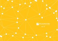 Yellow Abstract Geometric Rump...