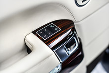 Car Interior Details Of Door H...
