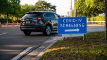 COVID-19 Drive Through Testing...