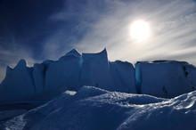 Beautiful View Of Icebergs In ...