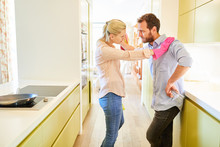 Couple Arguing About Housework...