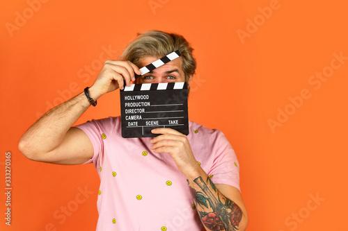 Obraz na plátně Actor casting