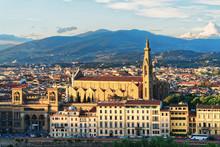 Cityscape With Santa Croce Bas...