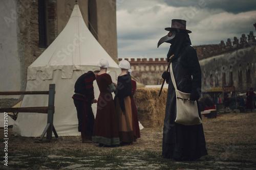 Fotografija A masquerade historical scene reconstruction