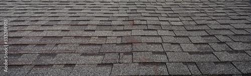 Fotografia, Obraz Dark clay granite roof tiles