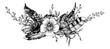 Bouquet Of Flowers. Bridal Flo...
