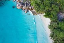 Anse Lazio Beach Aerial View I...