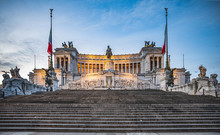 Vittoriano Is A Monument In Ho...