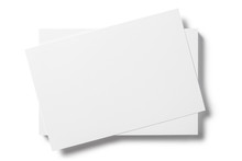 Close-up Of Blank Cards, Ticke...