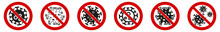 No Virus Sign, Germ Cell Icon ...