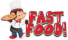 Font Design For Word Fast Food...