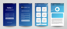Design Of Mobile App, UI, UX, ...
