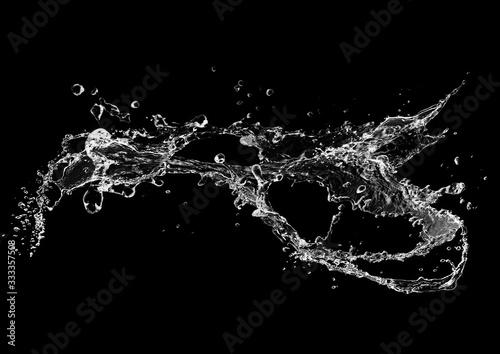 Fotografía 流動的な水しぶき
