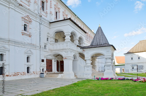 Fototapeta Ryazan, Russia - August 17, 2018: The Palace of Oleg in the Ryazan Kremlin