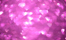 Bokeh Lights Abstract Background And Glitter Wallpaper Background