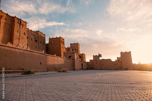 Ouarzazate Kasbah Canvas