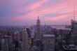 View of the New York City skyline