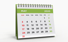 Desk Calendar May 2020