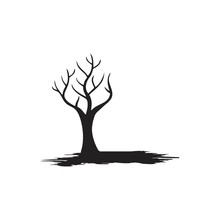 Tree Without Leaf Logo Design ...