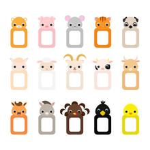 Cute Set Of Animal Frames For ...