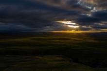 Sunrise Above Gordale Scar, Malham, North Yorkshire