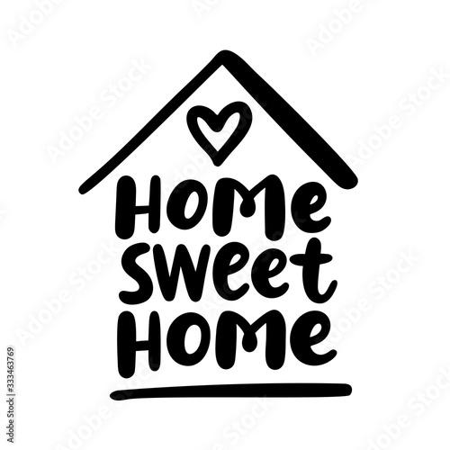 Valokuvatapetti Home sweet home