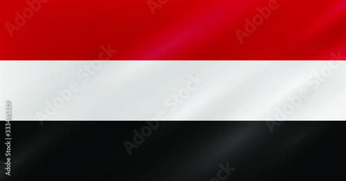 Yemen Flag - Vector Collection Canvas Print
