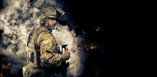 Portrait Of A Special Forces S...