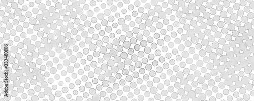 Fotografie, Obraz Monochrome grunge background of spots halftone.