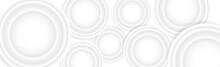 Voluminous White Circles