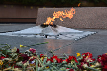 Eternal Flame, Flowers At The ...