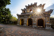 The Imperial Palace of Hue in Vietnam