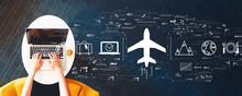 Flight Ticket Booking Concept ...