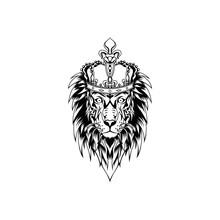 Vector Illustration Of A Lion ...