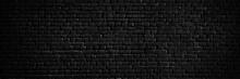 Texture Of A Black Brick Wall ...