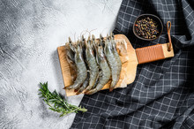 Fresh Raw Giant Langoustine Sh...